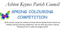 colouring competition poster